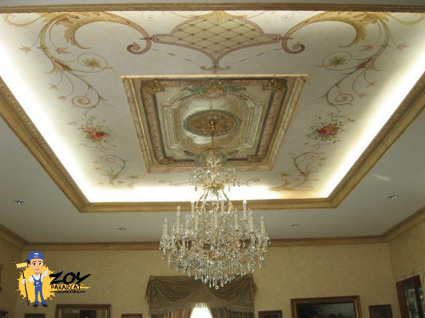 Ceiling Drawing work & Ornament 1