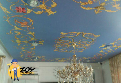 Ceiling Drawing work & Ornament 2