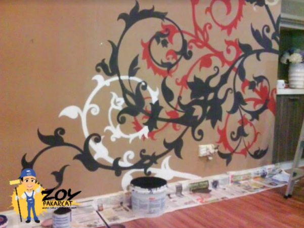 Wall painting ornament 1